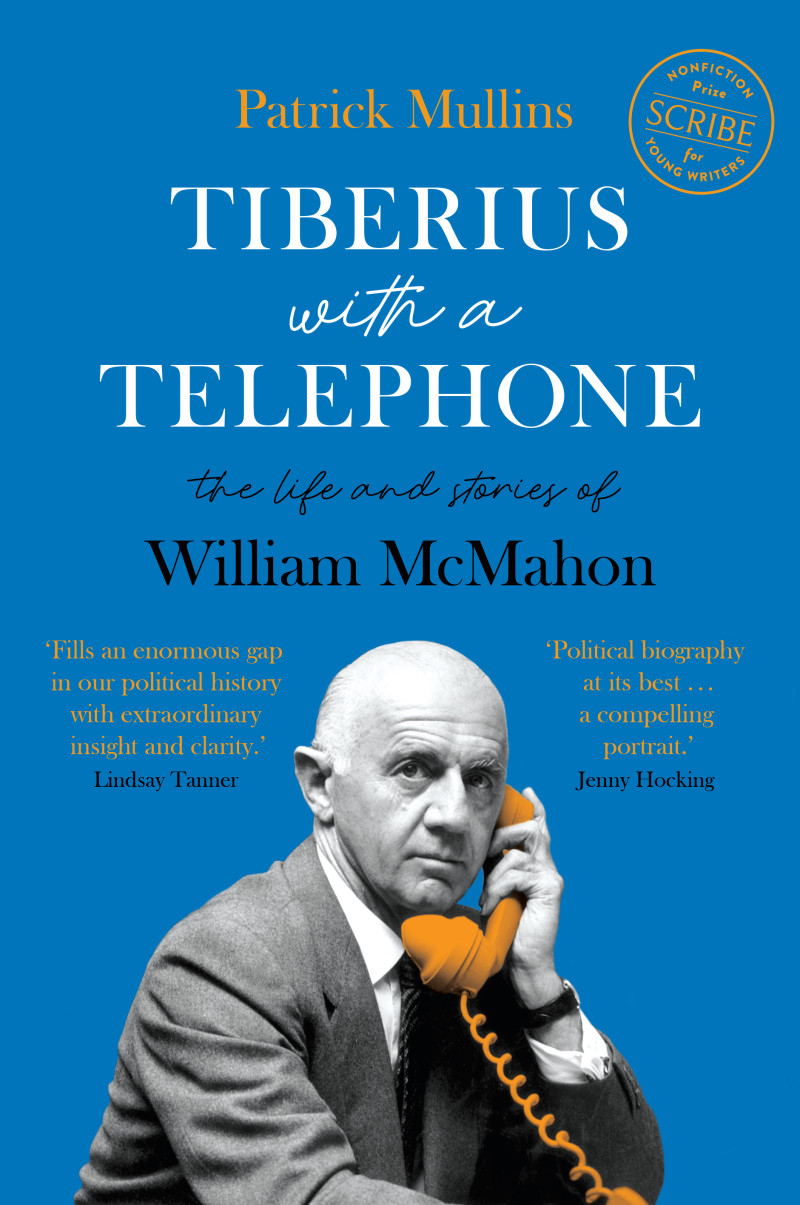 Tiberius with a Telephone by Patrick Mullins