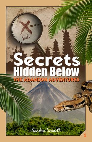 Secrets Hidden Below by Sandra Bennett