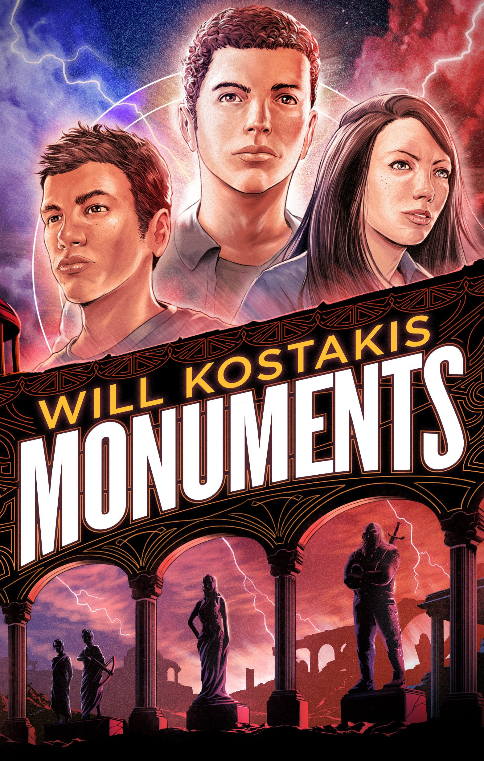 Book Launch - Monuments by Will Kostakis