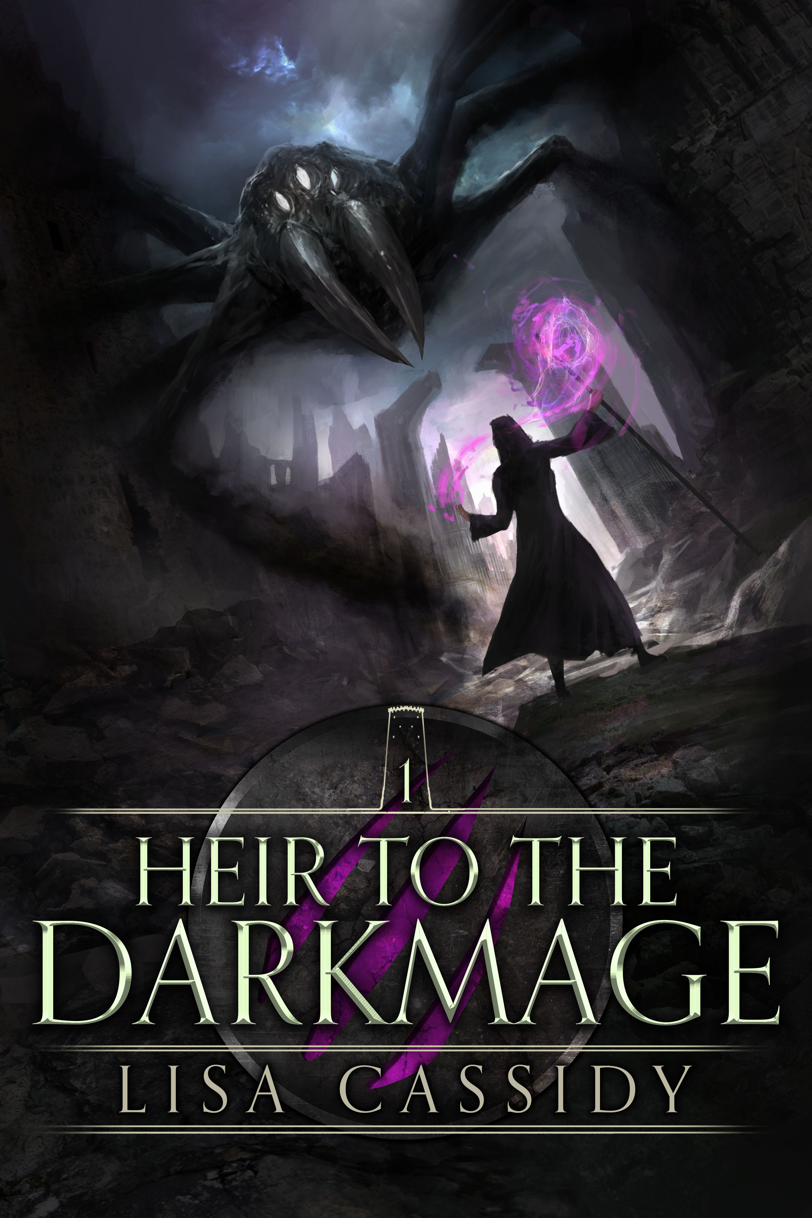 Book Launch - Heir to the Darkmage by Lisa Cassidy