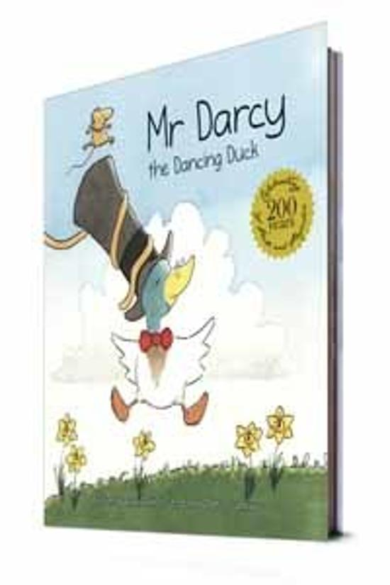 Mr Darcy the Dancing Duck