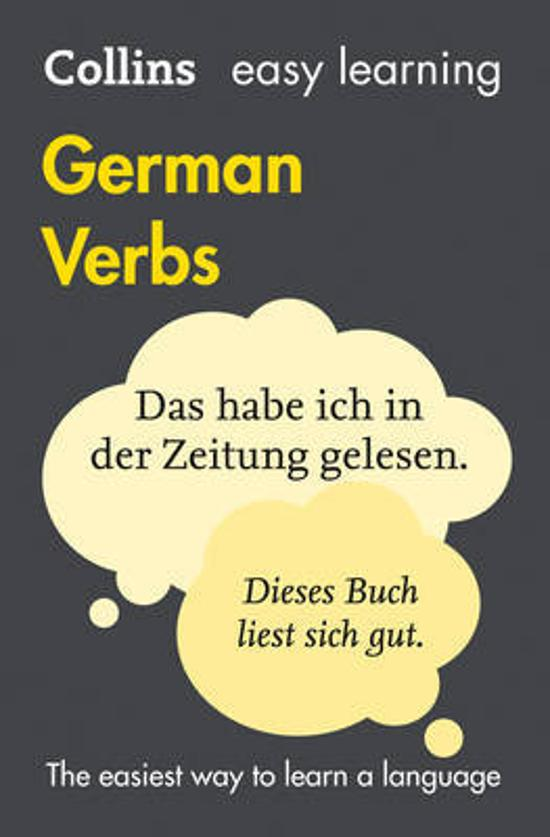 Collins Easy Learning German Verbs [Fourth Edition]