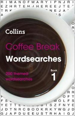 Coffee Break Wordsearches Book 1: 200 Puzzles