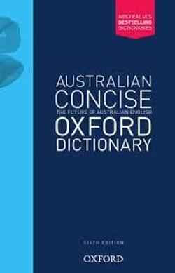 Australian Concise Oxford Dictionary Hardback 6E