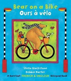 Bear on a Bike / Ours a velo